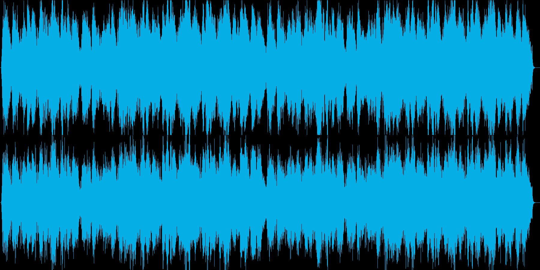 ラストシーンに使えそうな曲の再生済みの波形