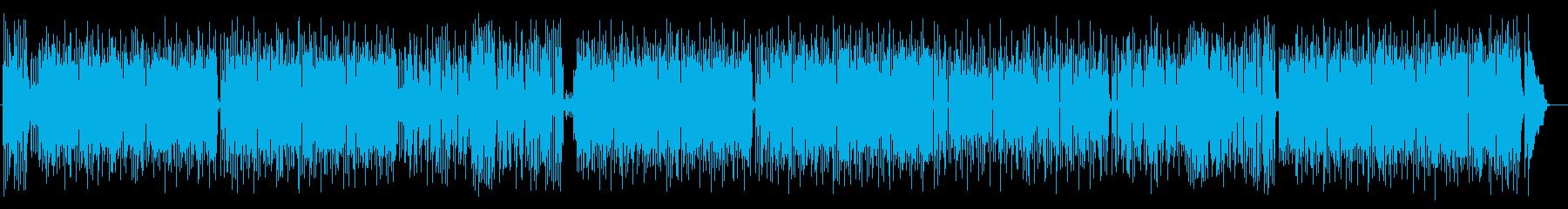 明るくノスタルジックなシンセサウンドの再生済みの波形