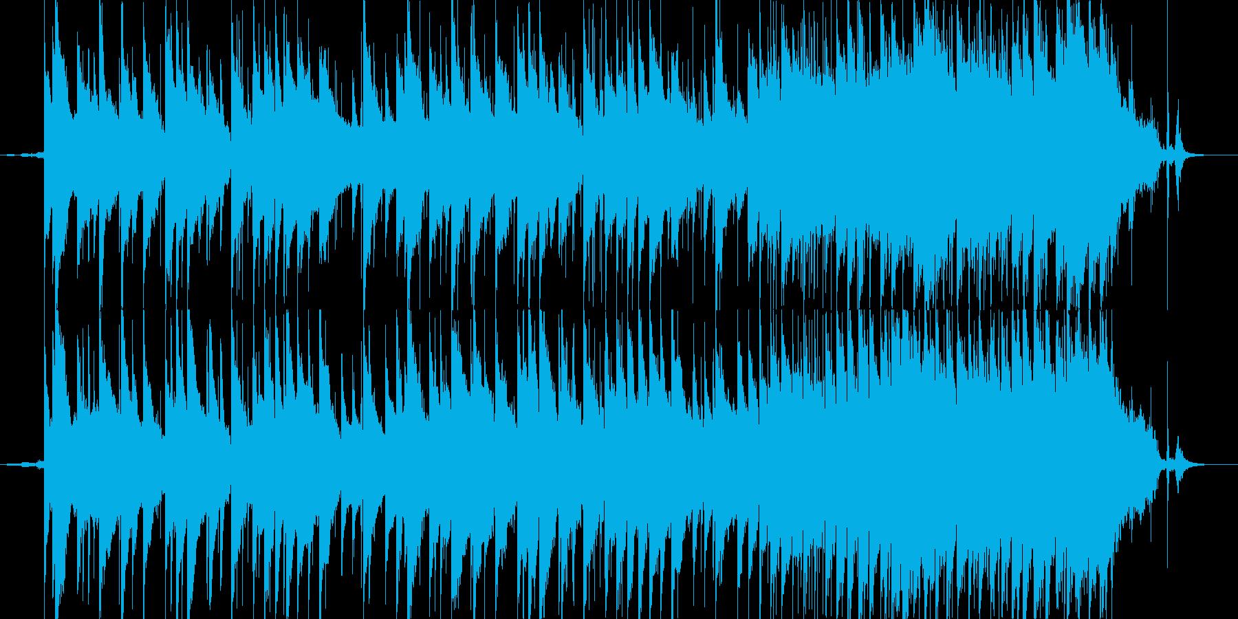 切ない夏の終わりのピアノ曲の再生済みの波形