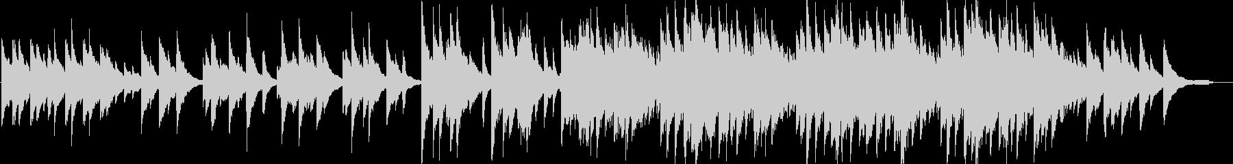 優しい・感動・ピアノ・イベント・映像用の未再生の波形