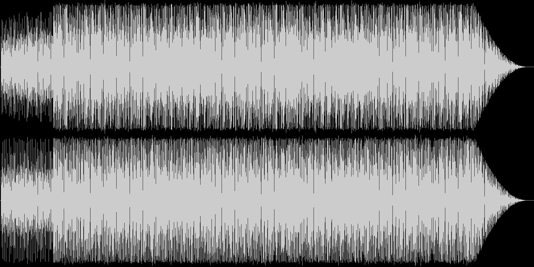 古めのハウス系インスト曲2の未再生の波形