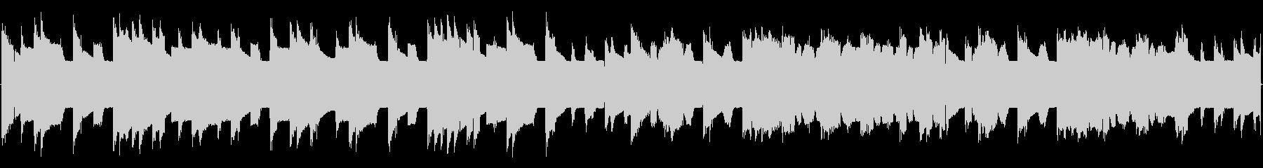 チップチューンの短いジャズループ3の未再生の波形