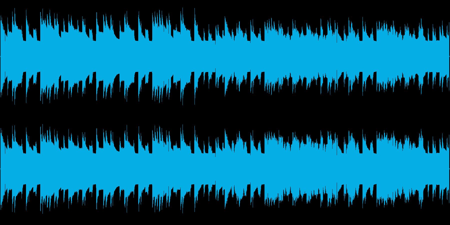 チップチューンの短いジャズループ3の再生済みの波形