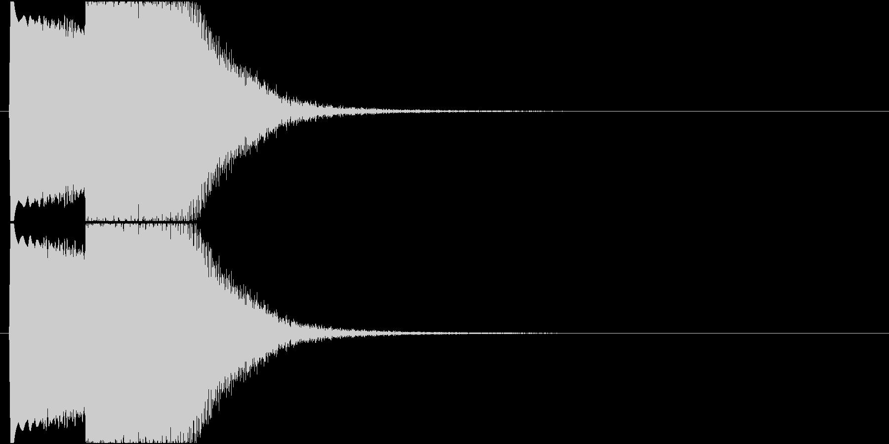 【SE 効果音】SF的な音4の未再生の波形