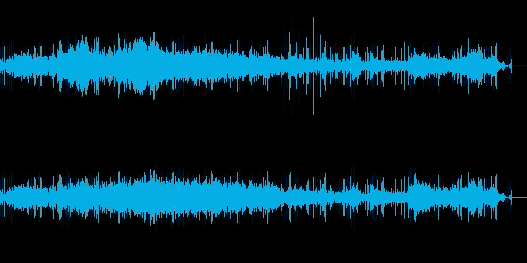 シンプルなサウンドスケープの再生済みの波形