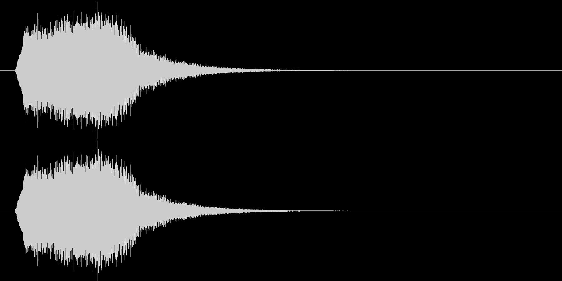 上昇_回復_復活SEの未再生の波形