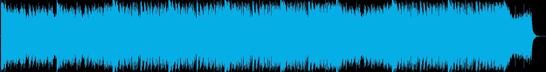 未来、最先端なサウンドの再生済みの波形