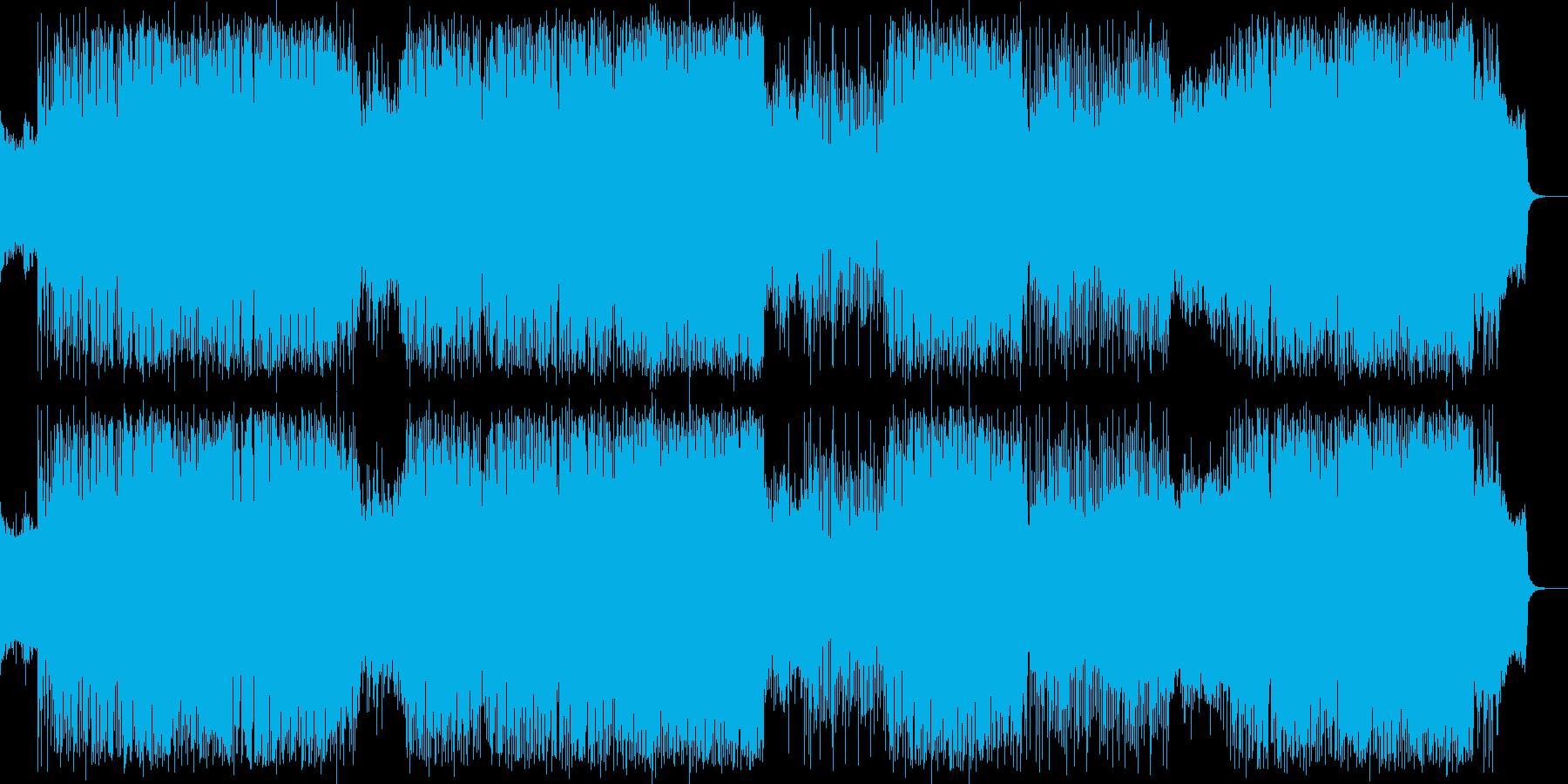 レトロゲームミュージック_ハードロック…の再生済みの波形