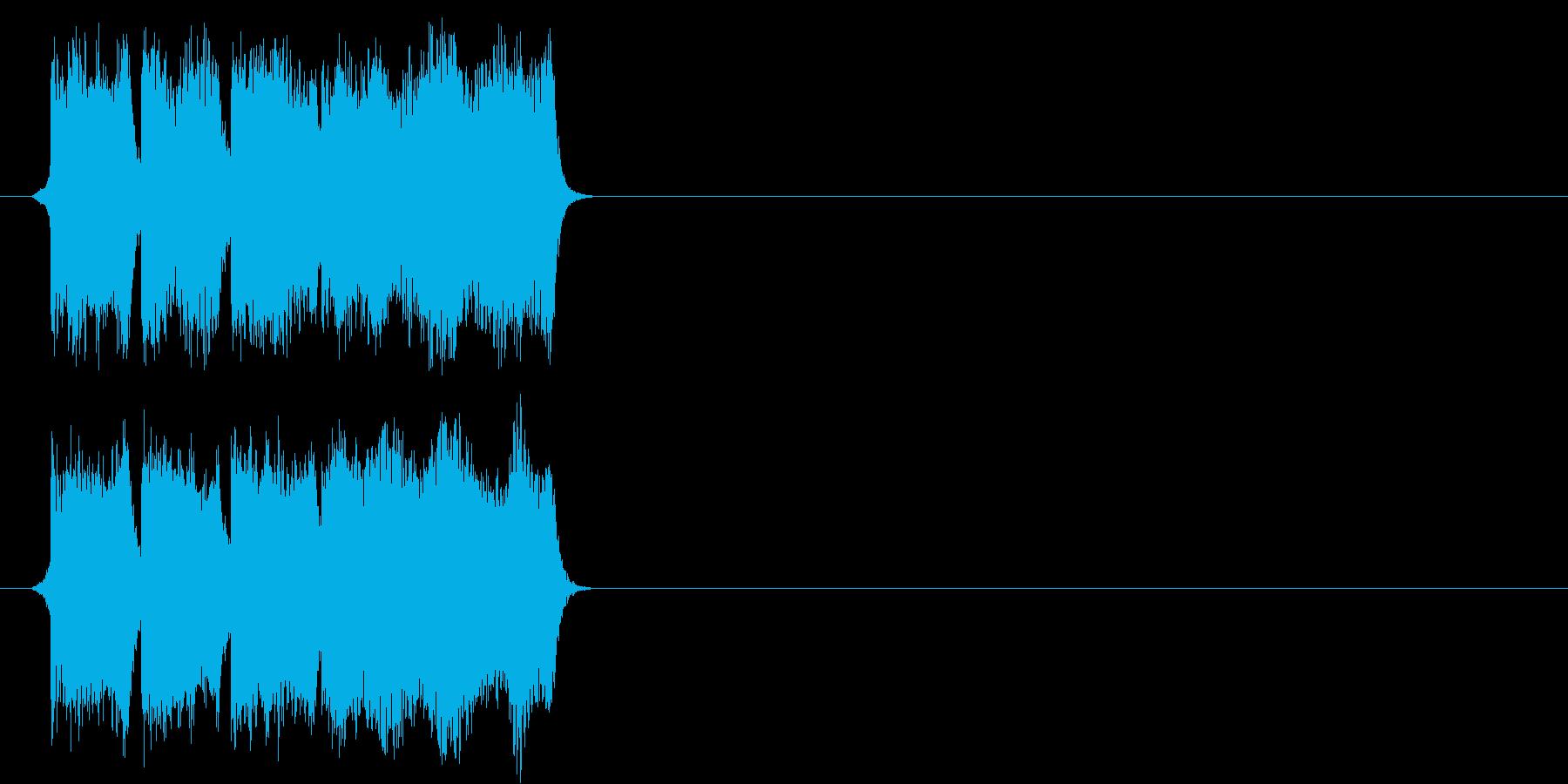 正解の時の効果音その1ですの再生済みの波形