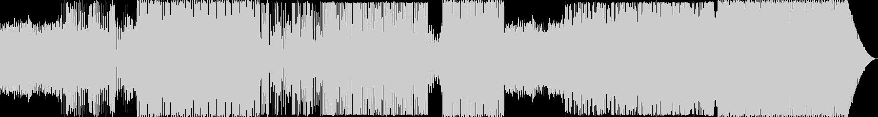 ムーディーなEDMの未再生の波形