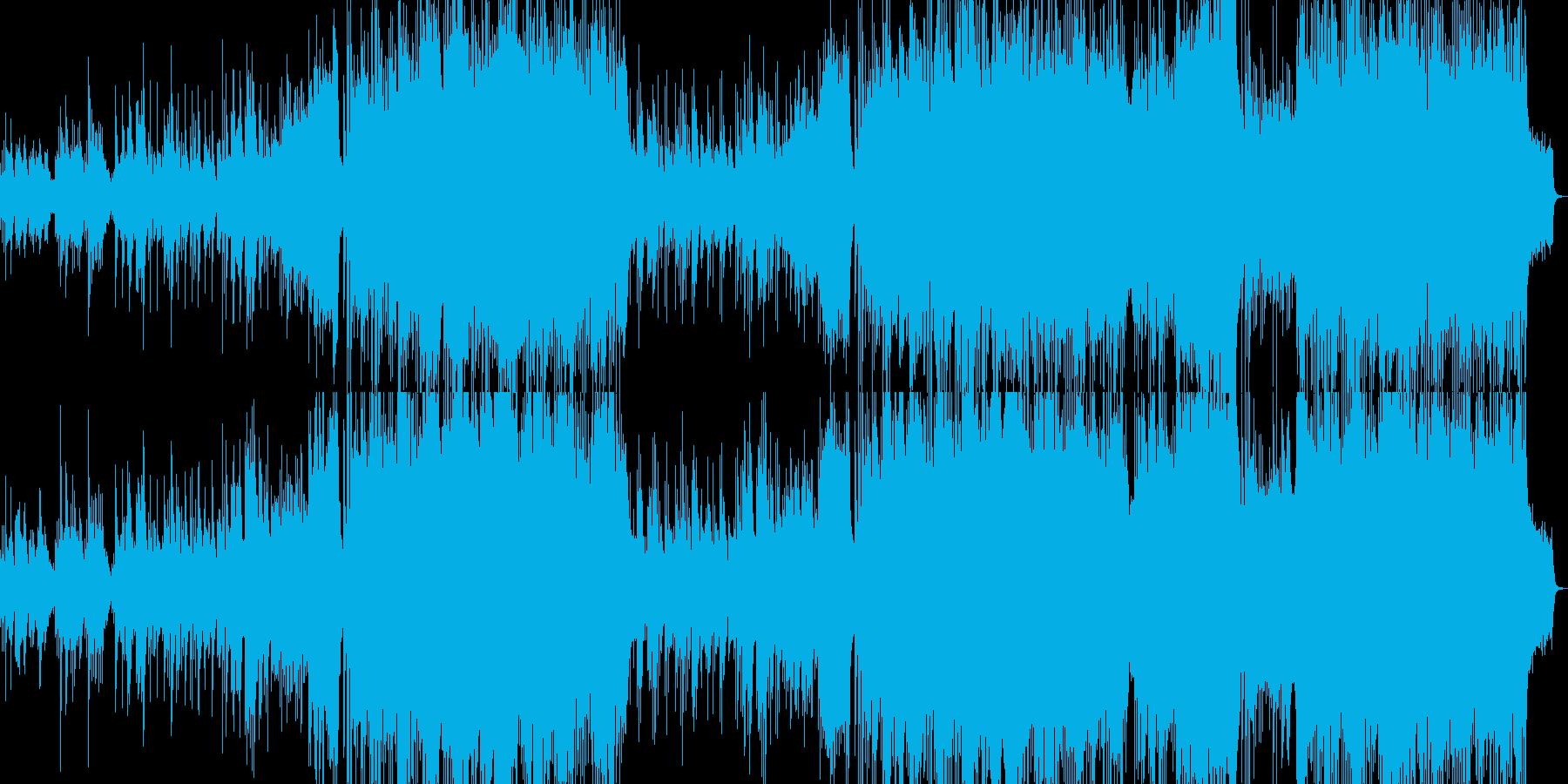 ピアノの旋律が印象的な壮大なバラードの再生済みの波形