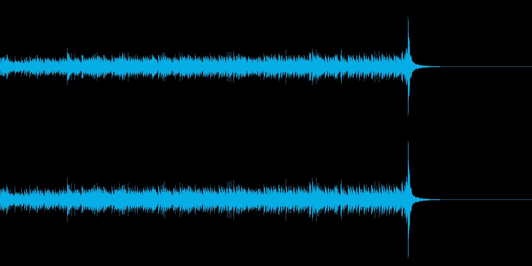 スタタタ タン! スネアロール3ロングの再生済みの波形