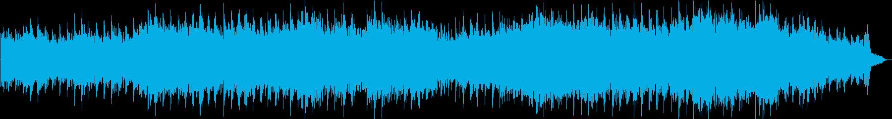 シューベルトのアヴェ・マリアの癒しBGMの再生済みの波形
