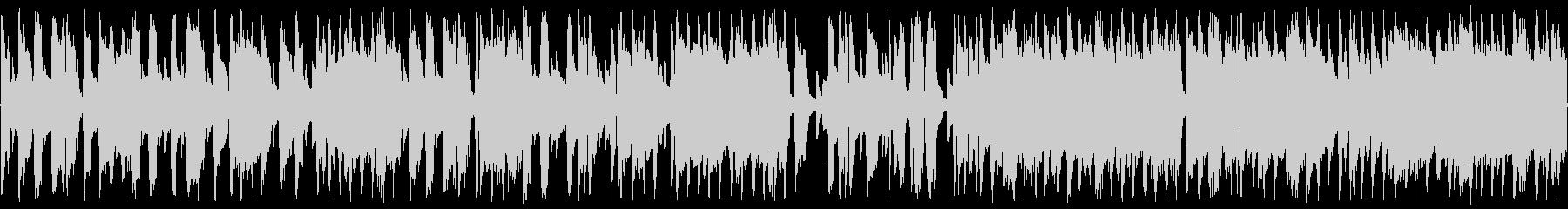 ジャズピアノ3拍子のブルース ループの未再生の波形