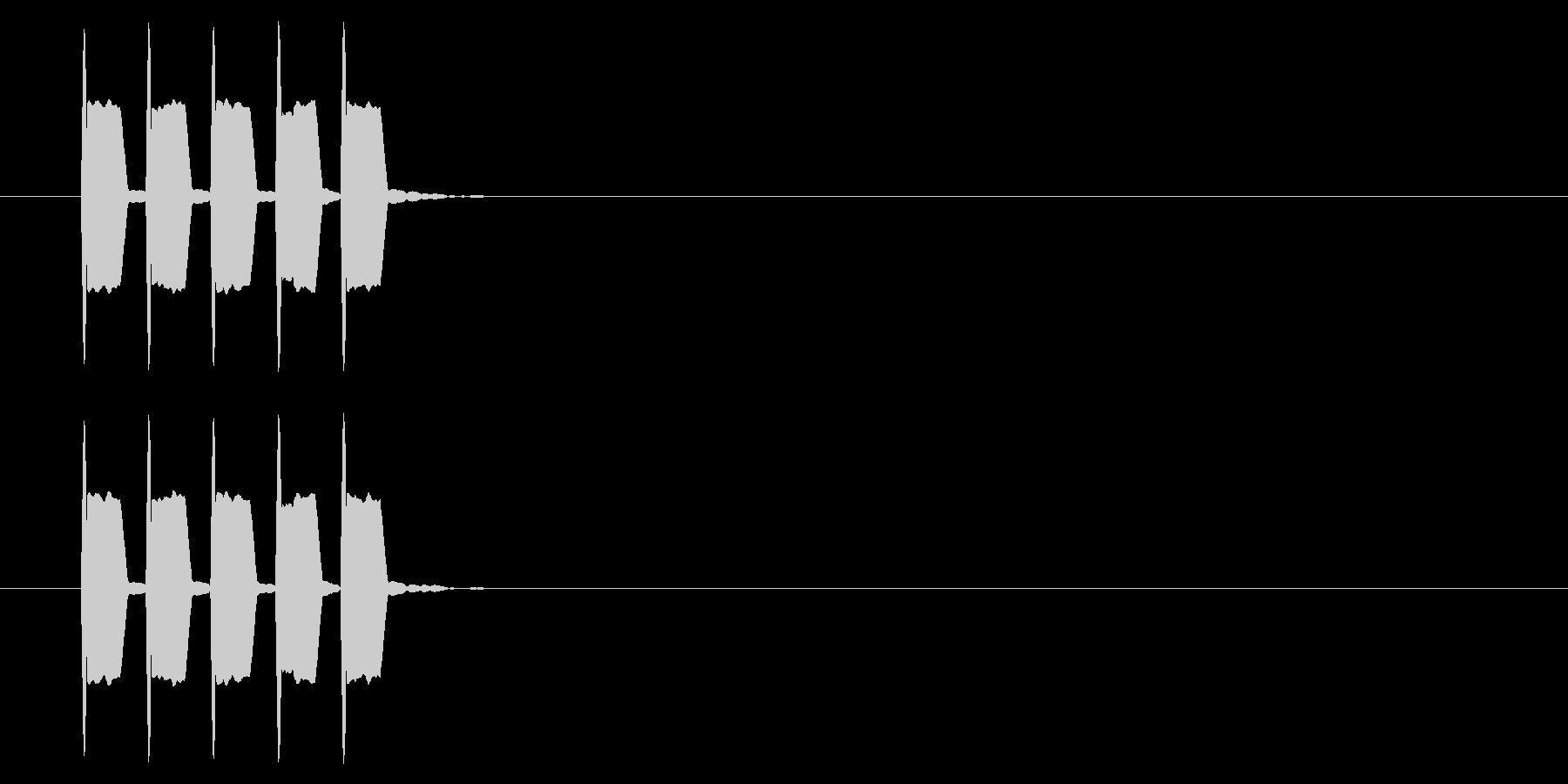 改札 ビープ音01-08(音色2)の未再生の波形