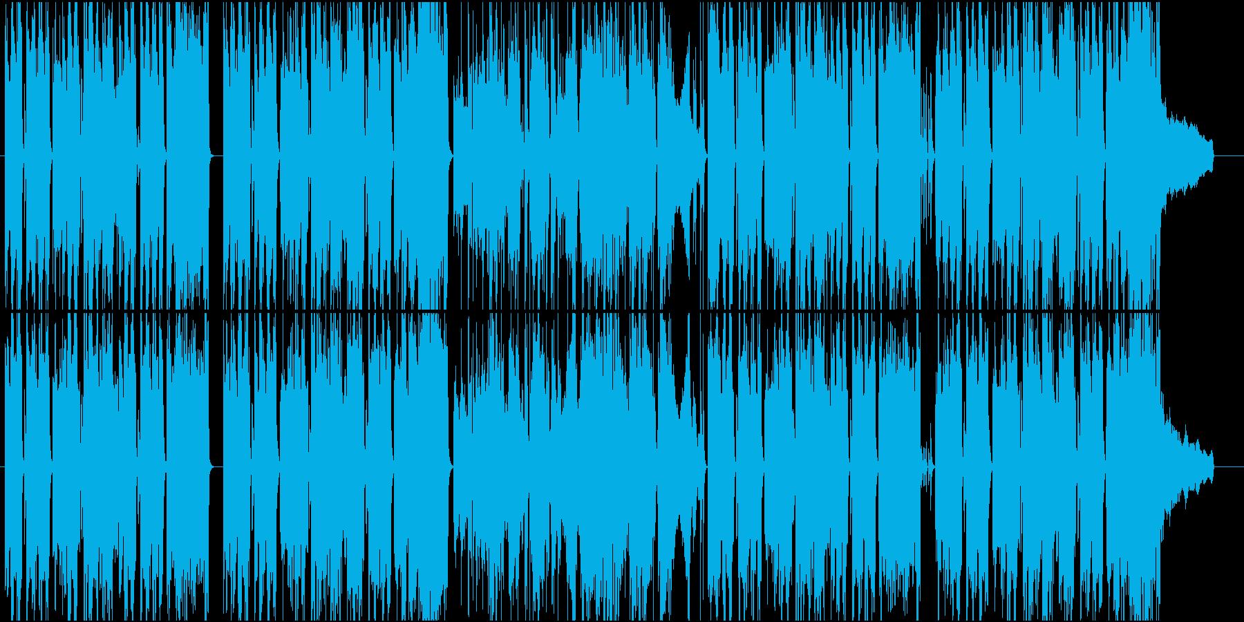 アニメ のんびり なんとかなるさの再生済みの波形
