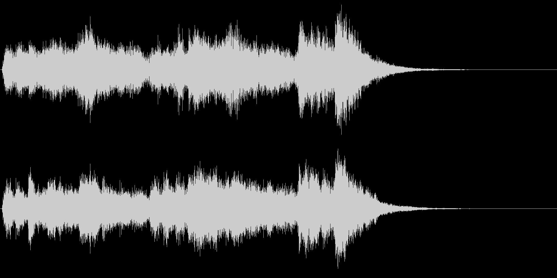Tp3本、Tb2本によるファンファーレの未再生の波形