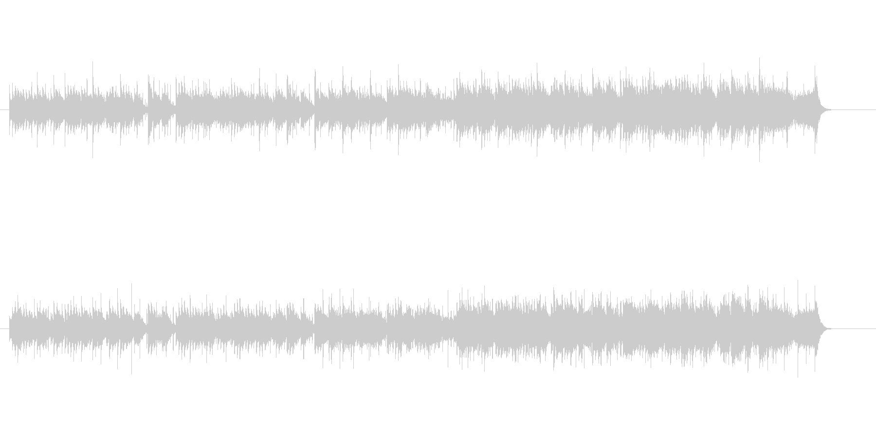 民族音楽風(カレー伝来)の未再生の波形