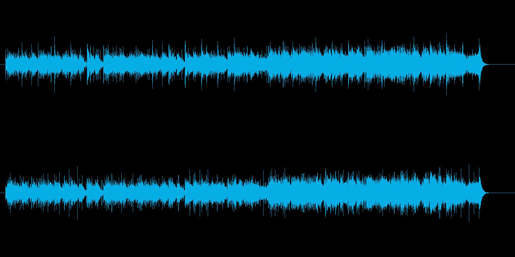 民族音楽風(カレー伝来)の再生済みの波形