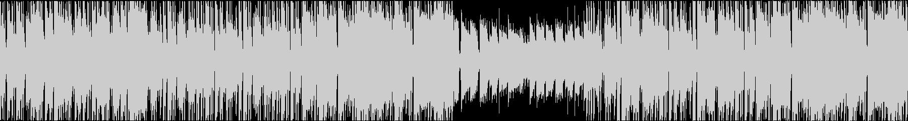 ジャジーで穏やかなヒップホップインストの未再生の波形