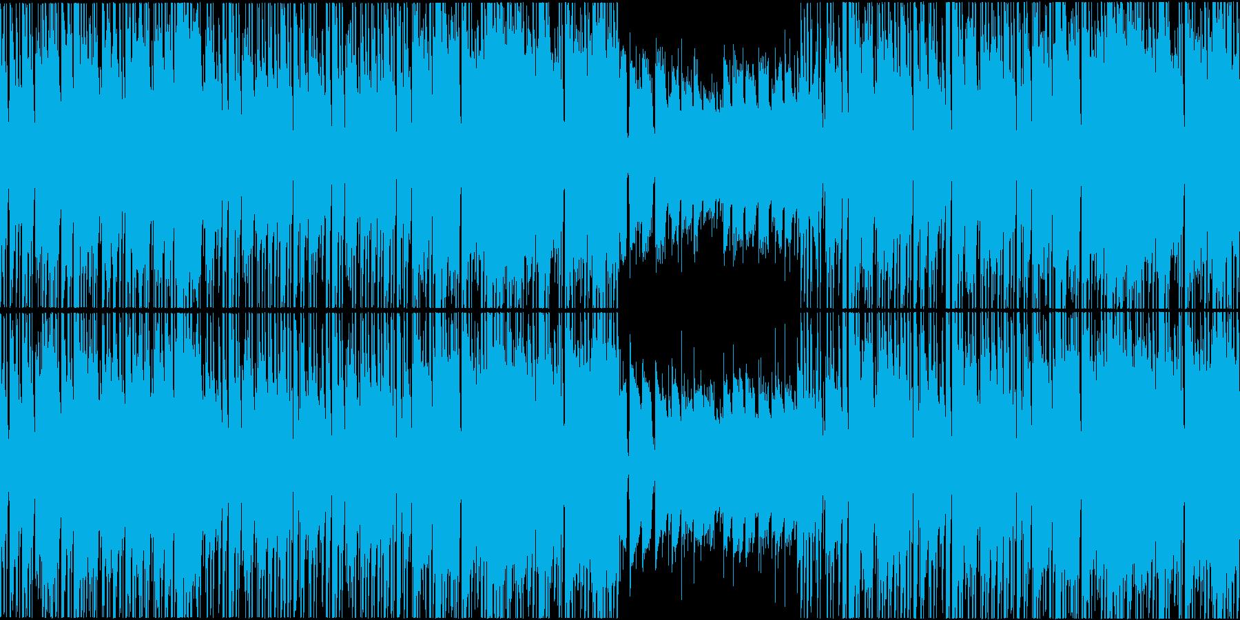 ジャジーで穏やかなヒップホップインストの再生済みの波形