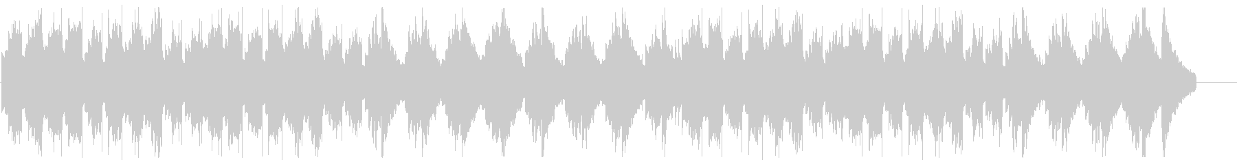 エレピとグロッケン系の音によるバラードの未再生の波形
