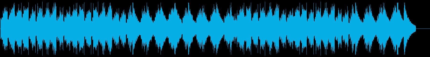エレピとグロッケン系の音によるバラードの再生済みの波形