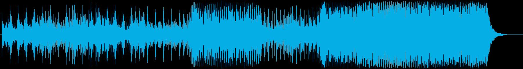 海のイメージの再生済みの波形