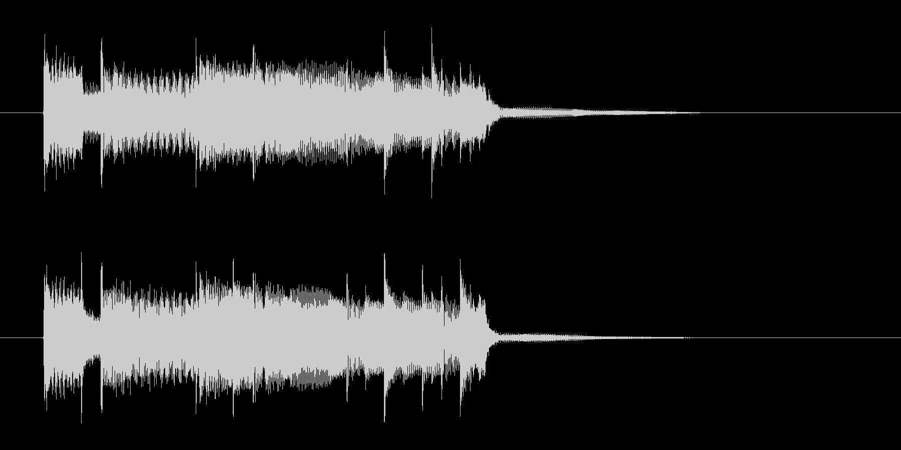 明るくおしゃれなギターサウンド(短め)の未再生の波形