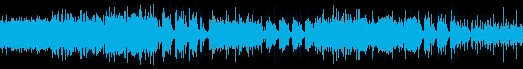 幻想的な雰囲気のバラード(ループ仕様)の再生済みの波形
