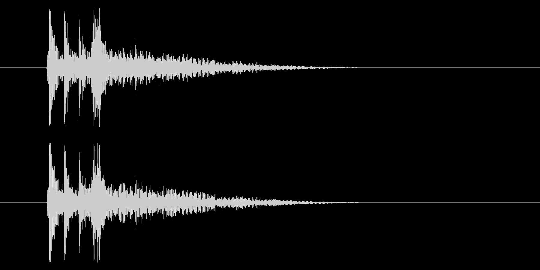 三味線_和_場面展開の未再生の波形