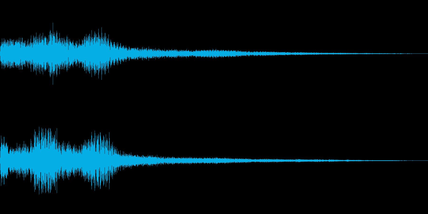 [タララン]選択音(明るく落ち着く)の再生済みの波形