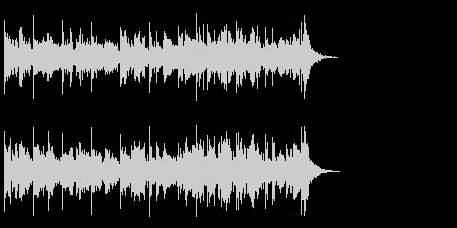 力強いファンク ポップ(Aメロ)の未再生の波形