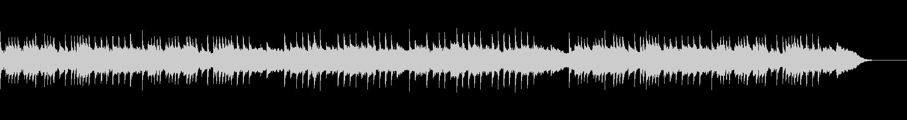 ゴシックホラーなオルゴールBGMの未再生の波形