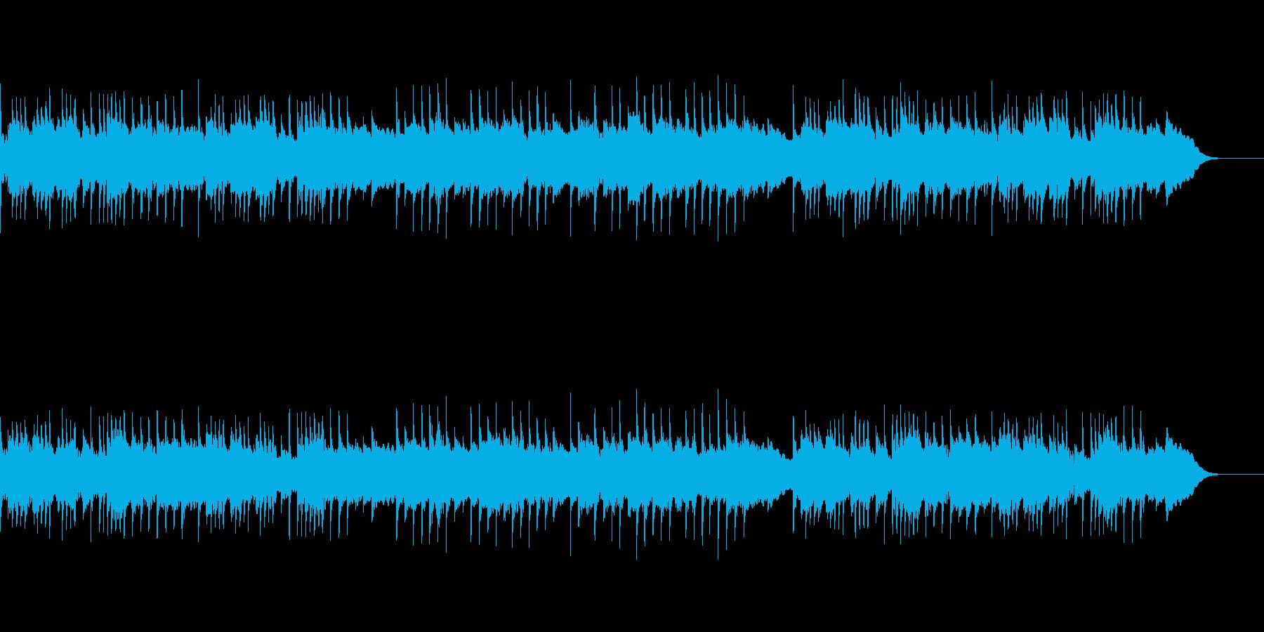 ゴシックホラーなオルゴールBGMの再生済みの波形
