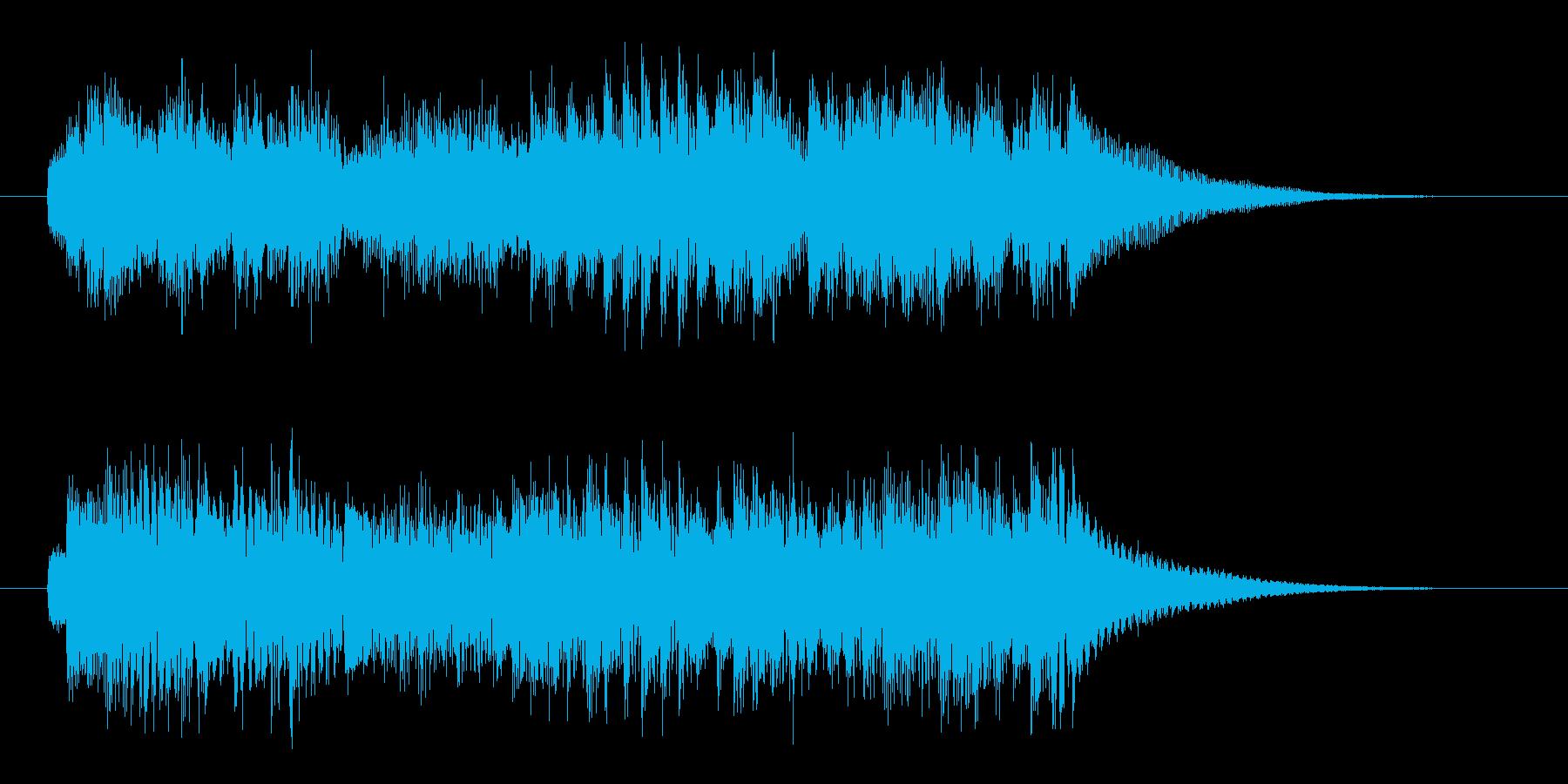 切なく、秘密めいた雰囲気のピアノジングルの再生済みの波形