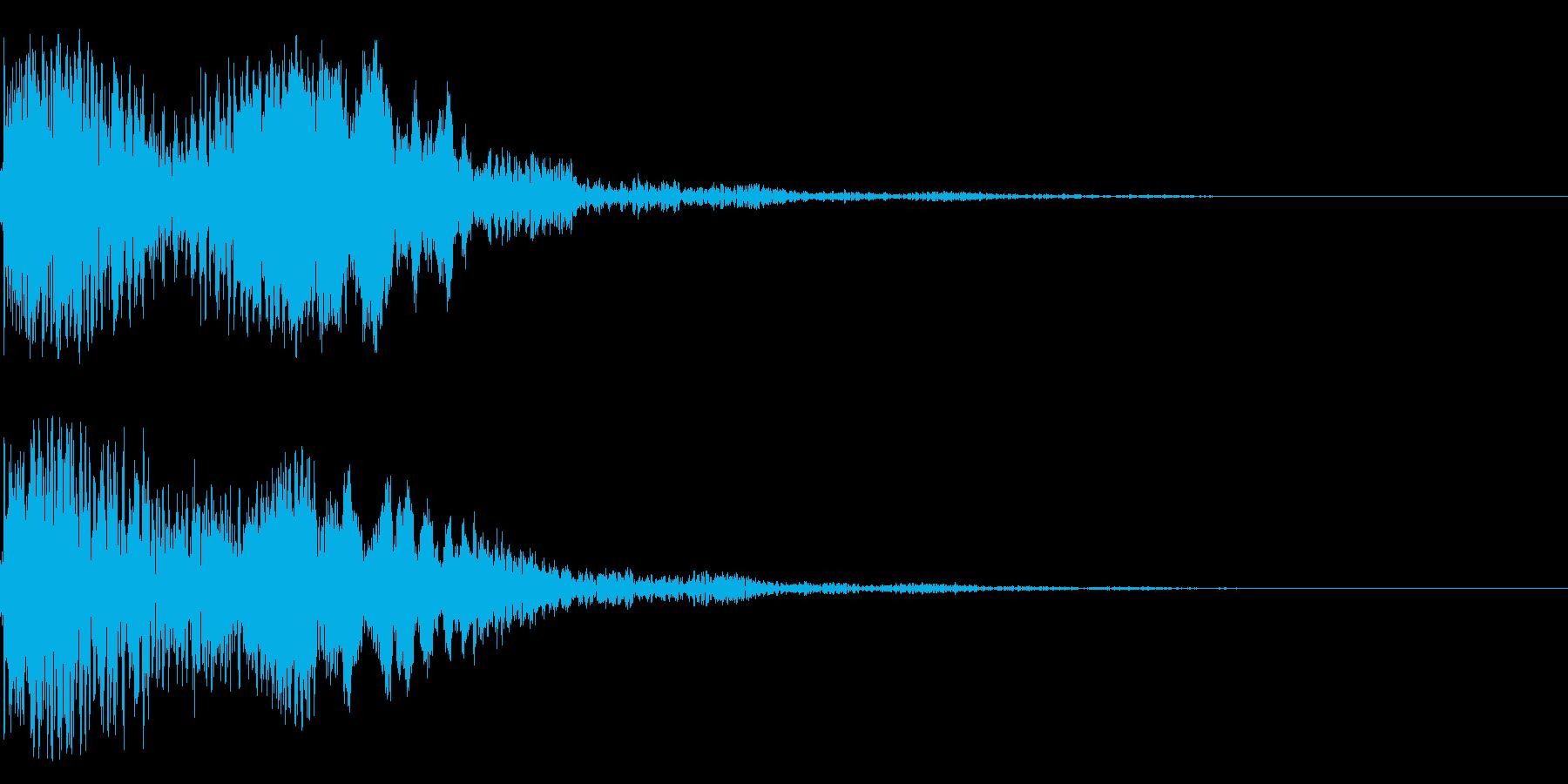 太鼓と尺八の和風インパクトジングル!10の再生済みの波形