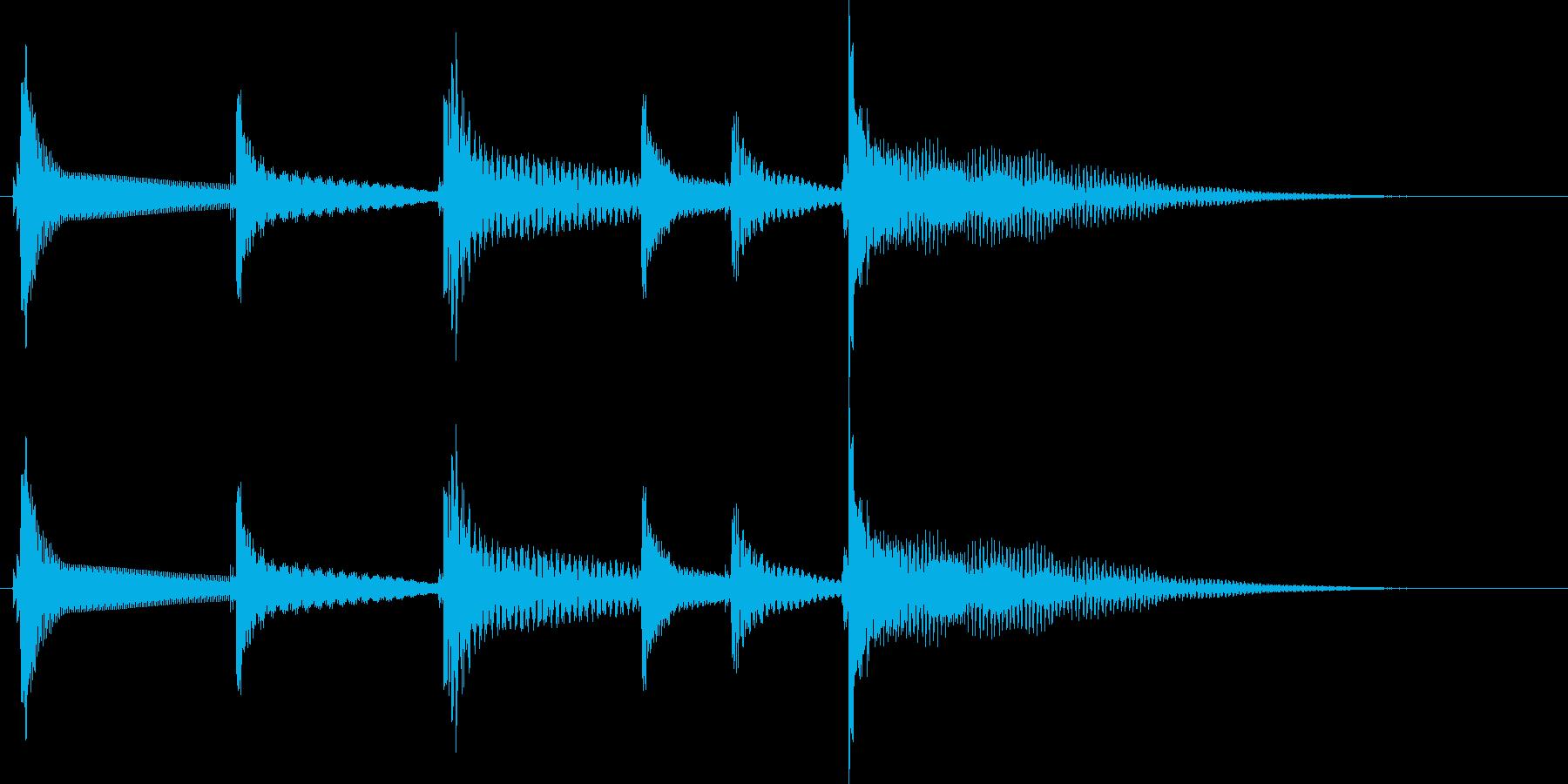 沖縄風ジングル2の再生済みの波形