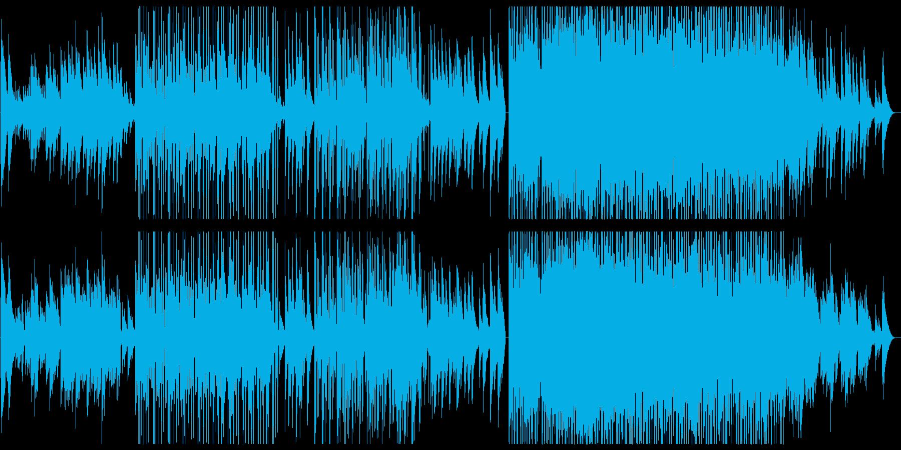和風音階 桜 銀杏 エレクトロニカの再生済みの波形