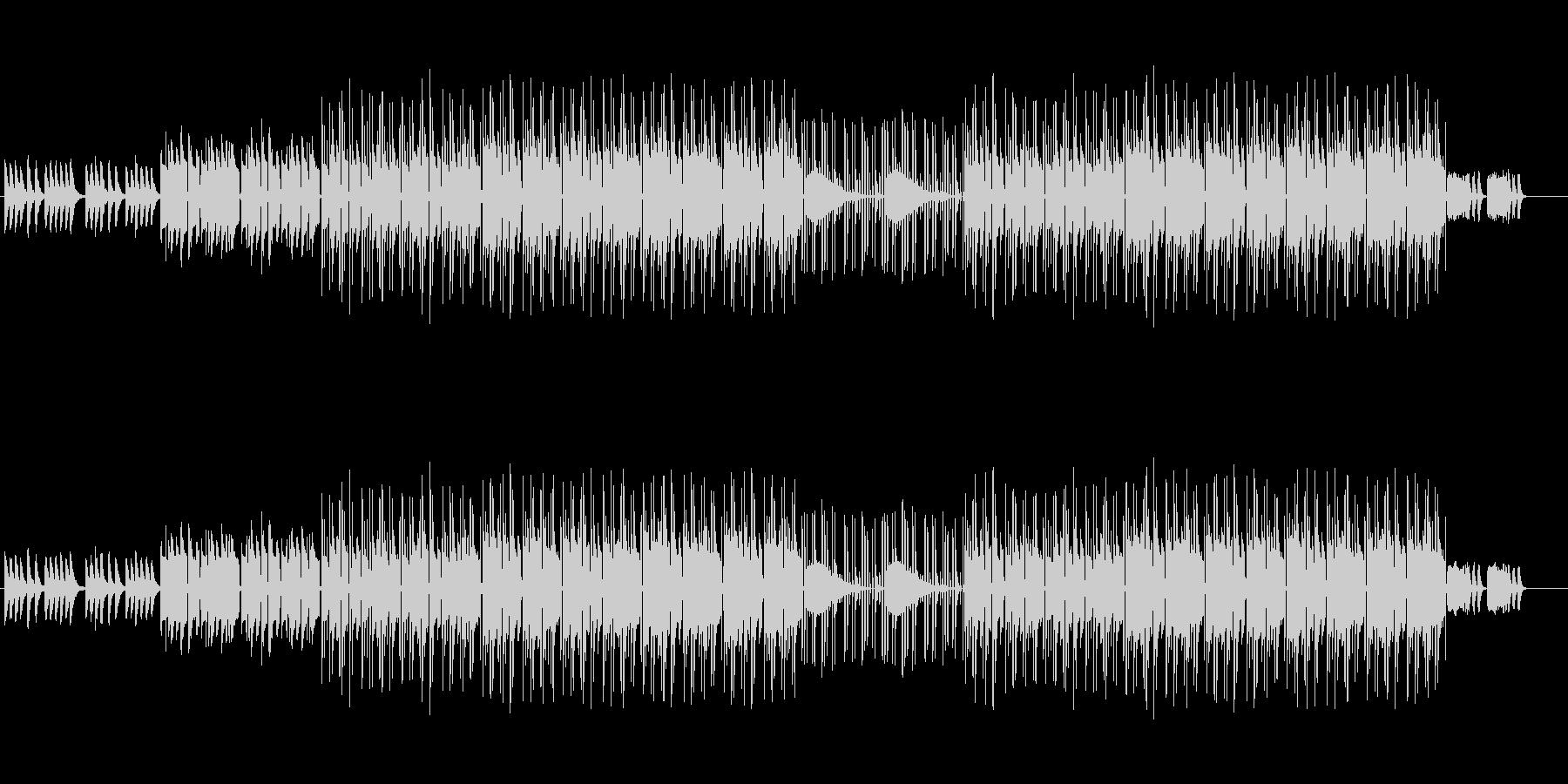 かわいい、ゆるい、コミカル-03の未再生の波形