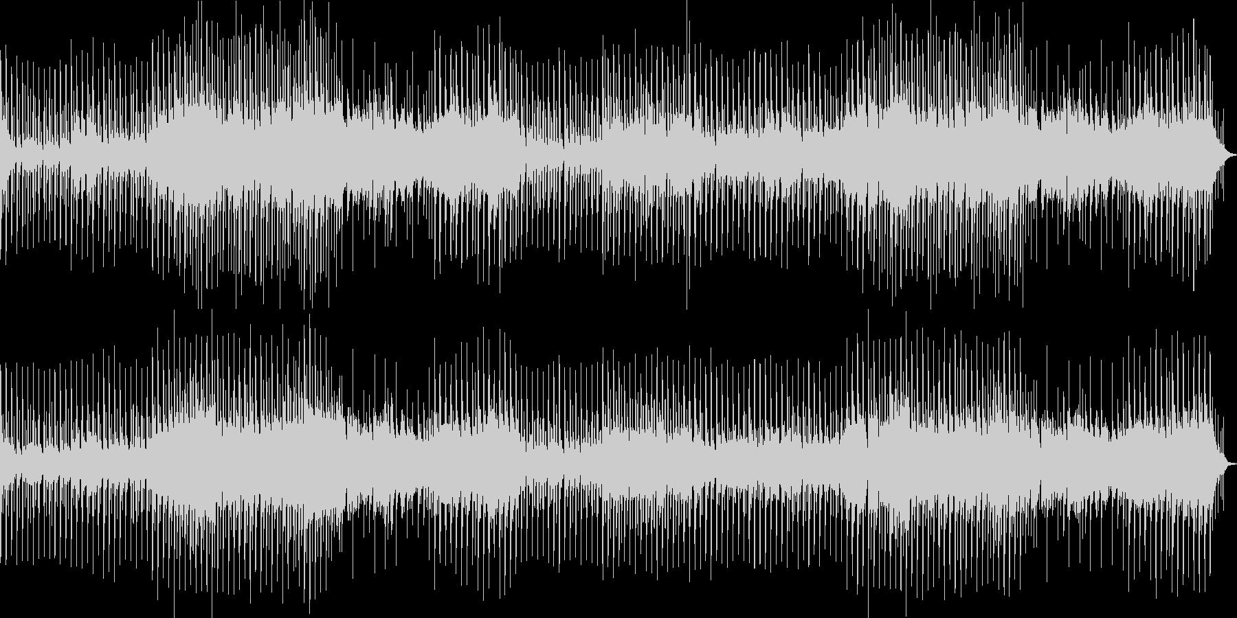 三味線の曲の未再生の波形