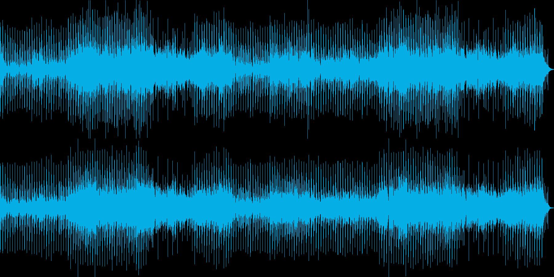 三味線の曲の再生済みの波形