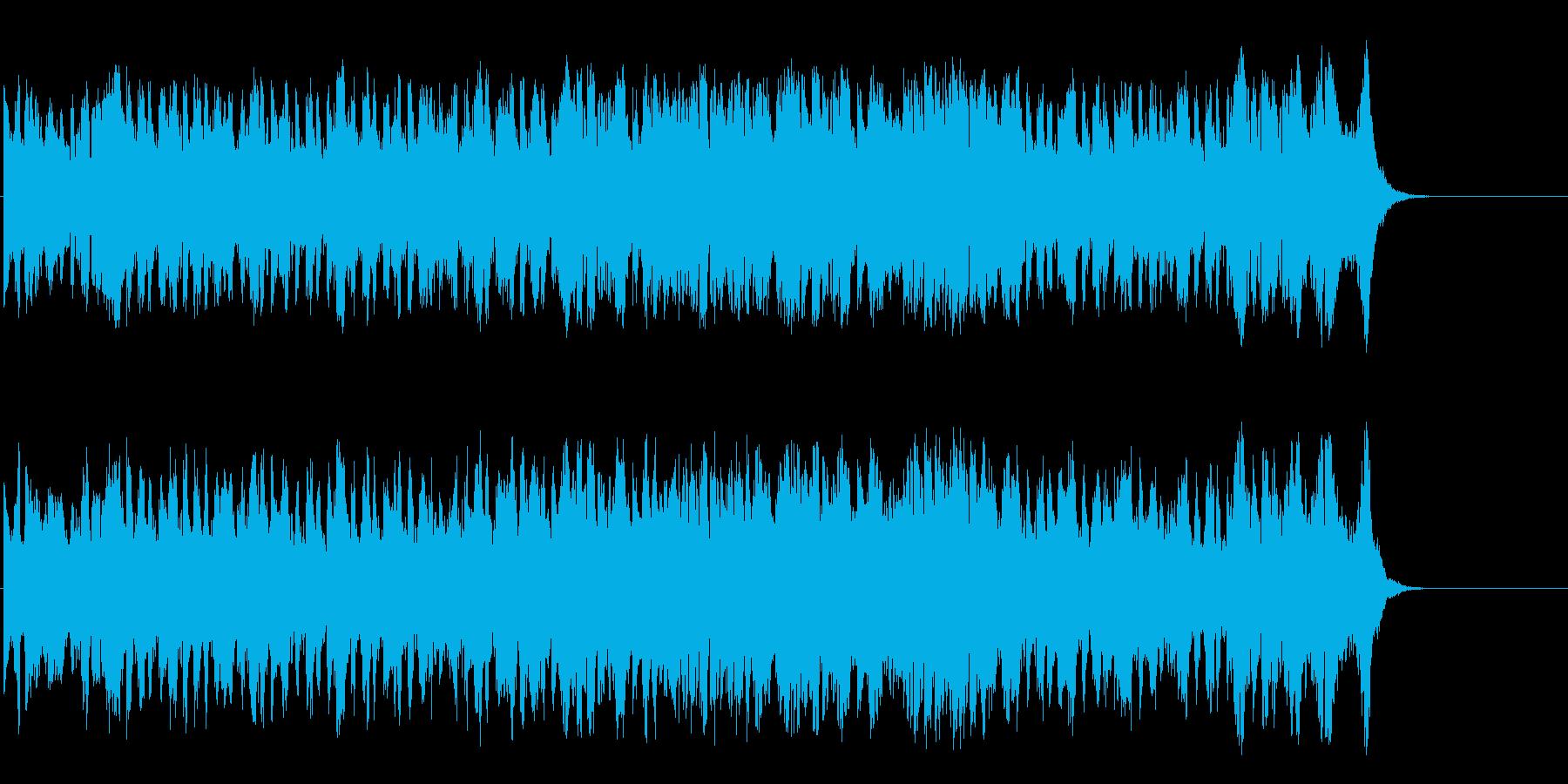 広大なスケールの気品高いクラシックの再生済みの波形