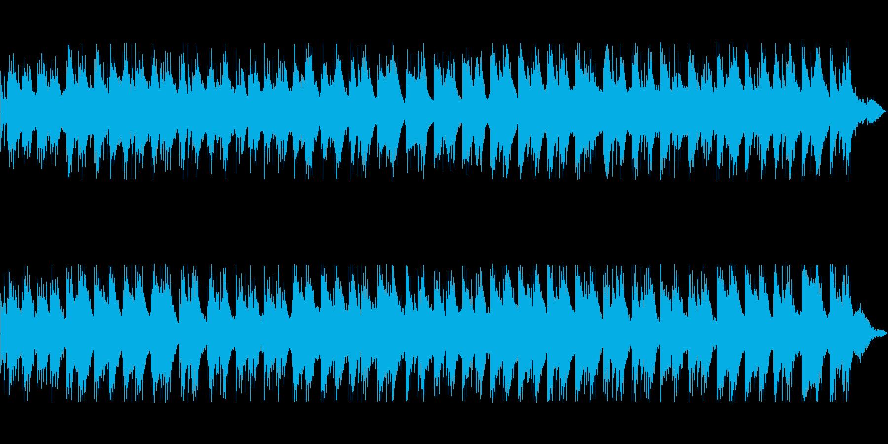 アコースティックな構成のアンビエントの再生済みの波形
