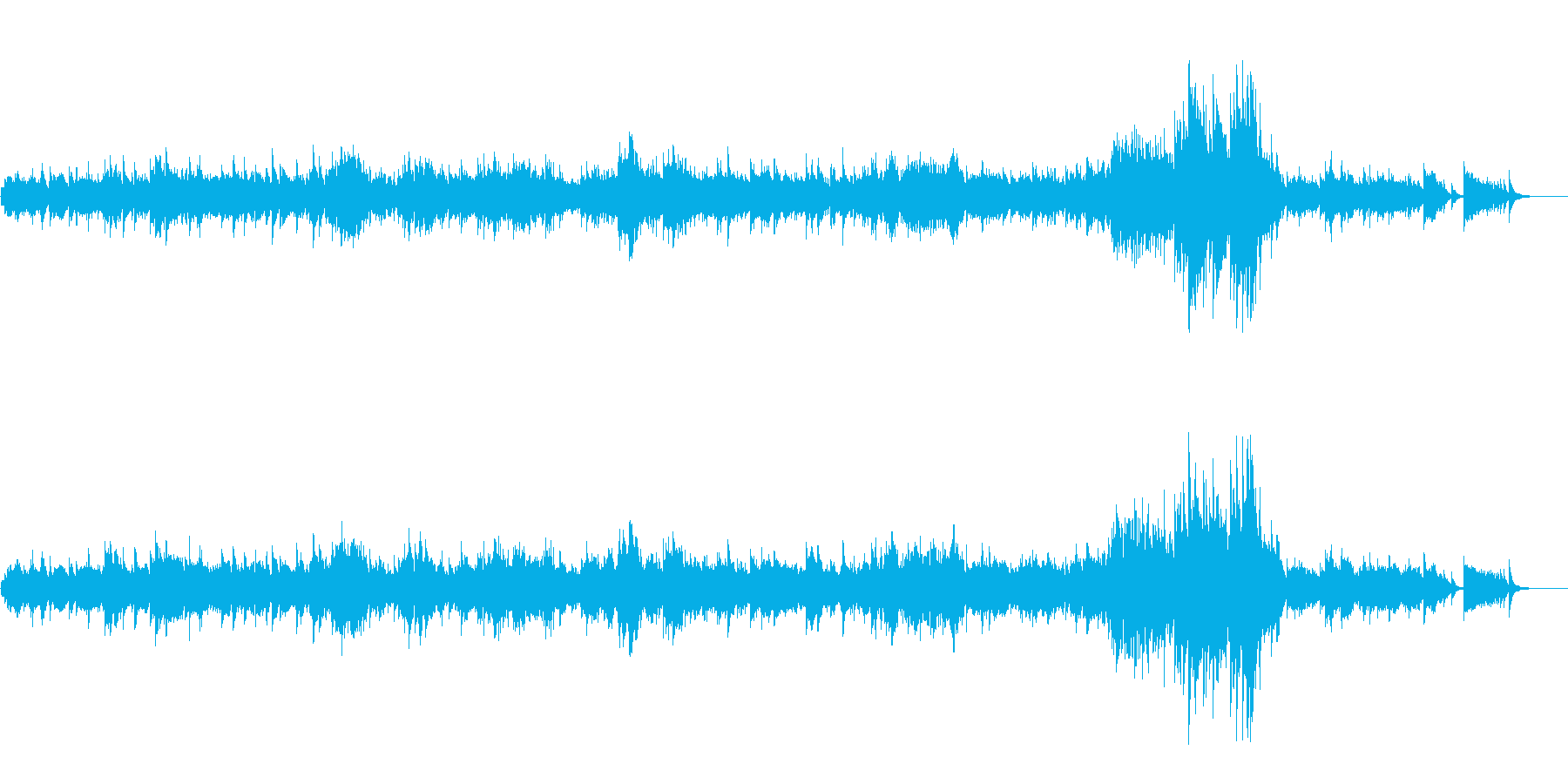 中世の薫り漂わせる西洋風優雅なクラシックの再生済みの波形