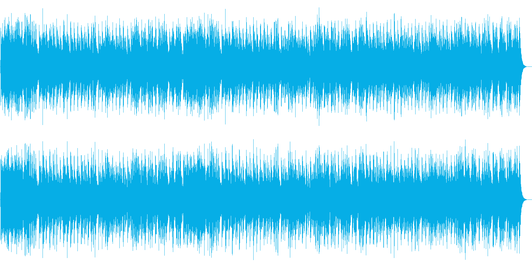 天には栄えcrystalの再生済みの波形