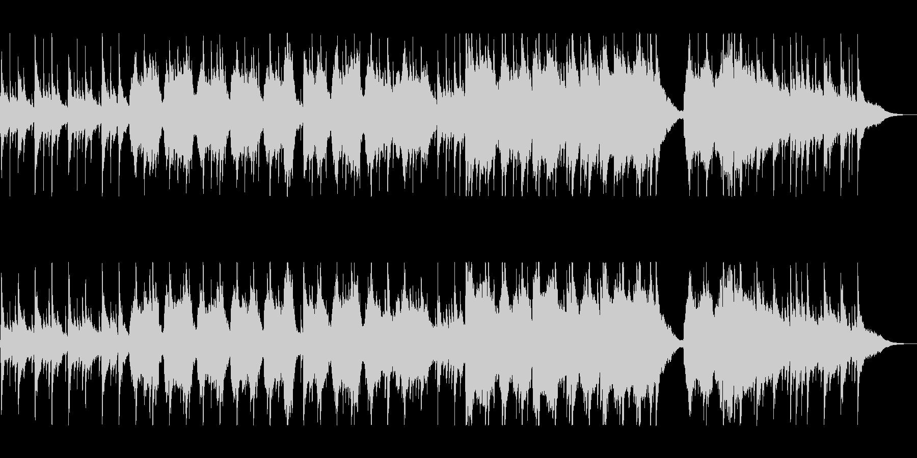 ゆったりとリラックスできるケルト音楽の未再生の波形
