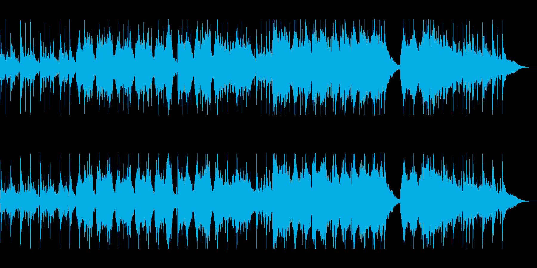 ゆったりとリラックスできるケルト音楽の再生済みの波形