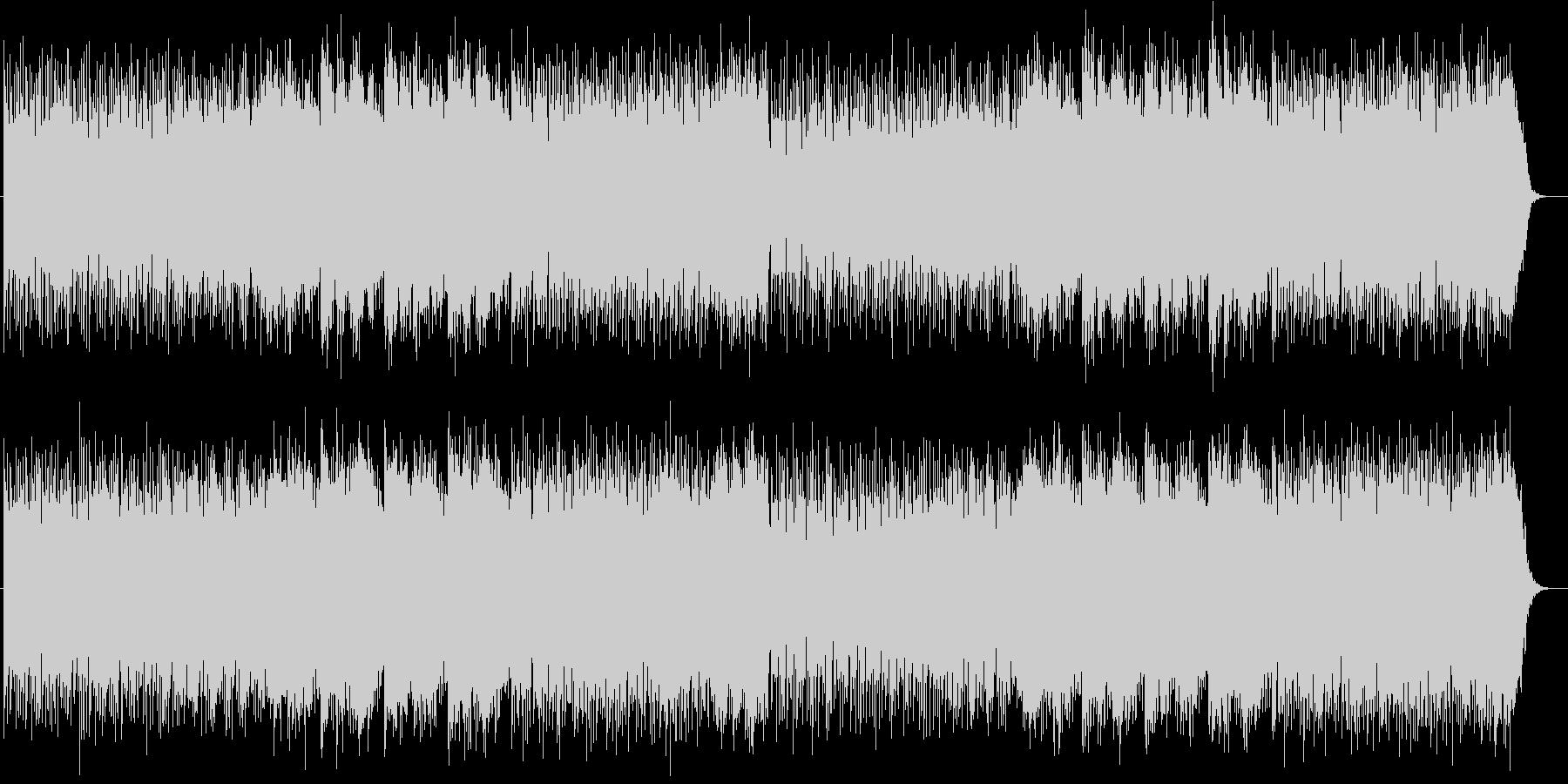 宇宙感のあるシンセサイザーサウンドの未再生の波形