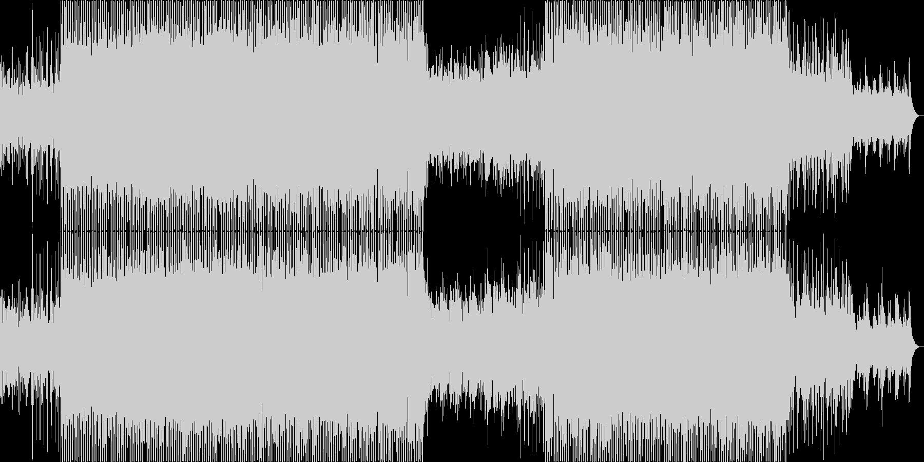 穏やかに浮遊するディープハウス。の未再生の波形
